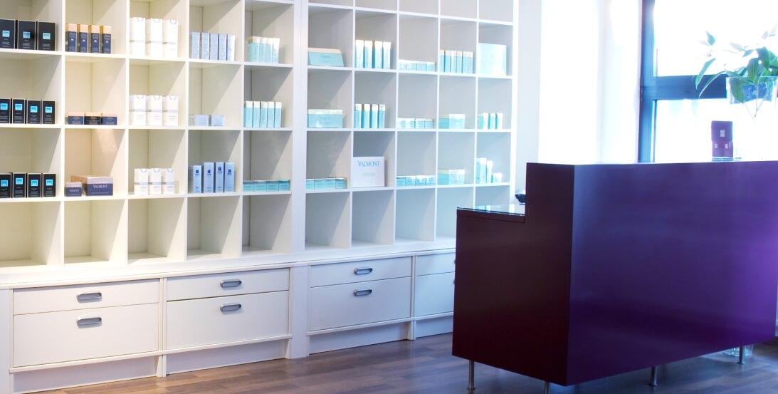 Kö80 Kosmetikstudio Schönheitssalon Beauty Lounge Empfang